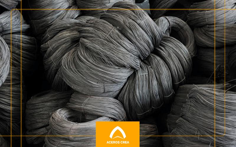 Rollos de alambre recocido de acero