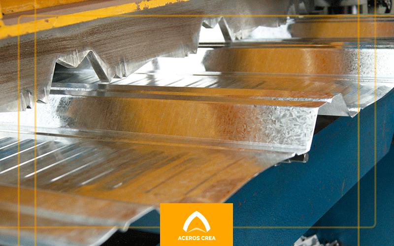 Fabricación de lámina acanalada galvanizada